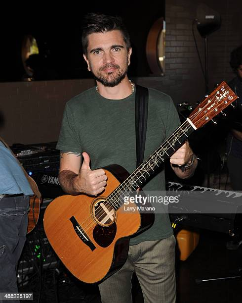 Juanes performs at Prohibition as part of the 949 MEGA concert on May 4 2014 in Miami Florida