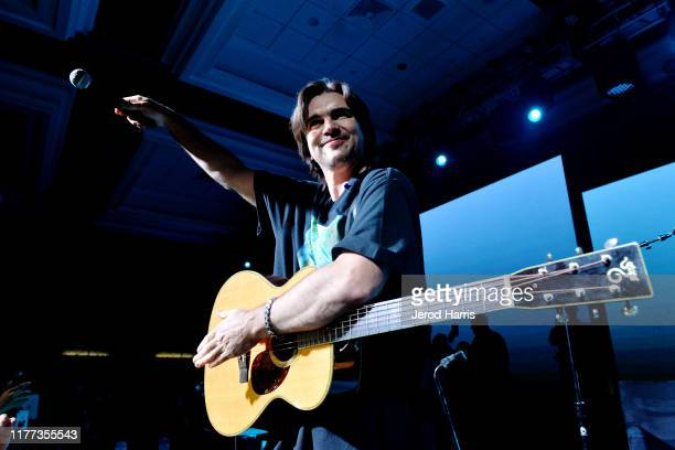 Juanes performs at the 2nd Annual L'Attitude Conference LatiNExt Live on September 26 2019 in San Diego California