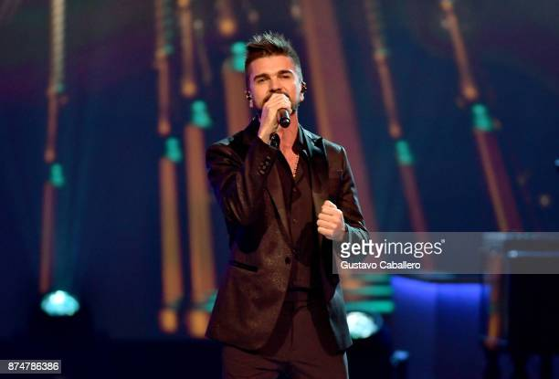 Juanes performs onstage during the 2017 Person of the Year Gala honoring Alejandro Sanz at the Mandalay Bay Convention Center on November 15 2017 in...