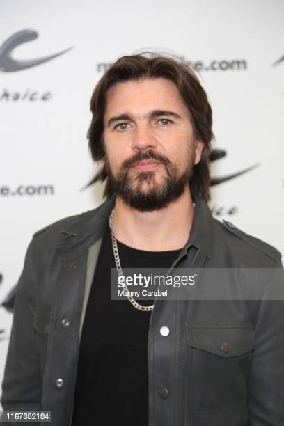 Juanes visits Music Choice on August 13 2019 in New York City