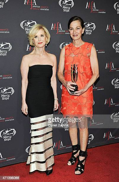 Juanita D Duggan and Cynthia Rowley attend the AAFA American Image Awards at 583 Park Avenue on April 27 2015 in New York City