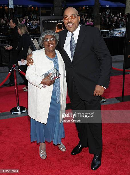 Juanita Foree and actor Ken Foree attend the 'Water For Elephants' premiere at the Ziegfeld Theatre on April 17 2011 in New York City
