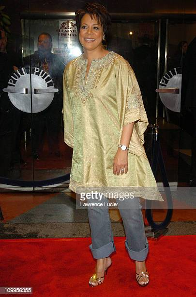 Juanita Jordan during I ROBOT New York Premiere Arrivals at Beekman Theater in New York City New York United States