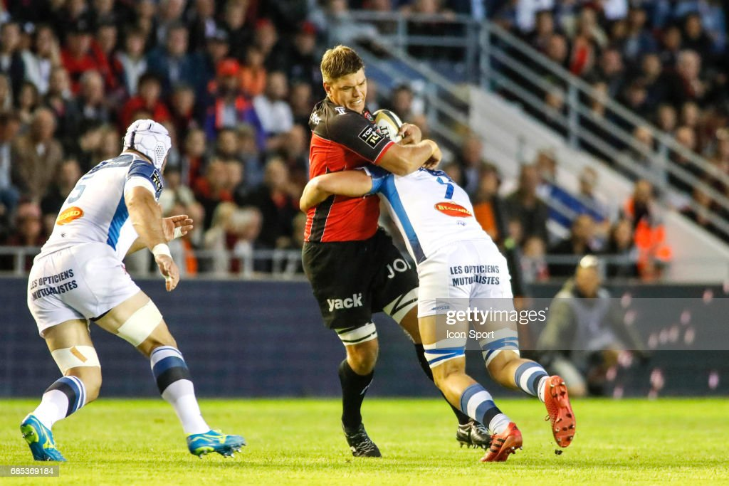 Juanne Smith of Toulon during the Top 14 Play-offs match between RC Toulon and Castres Olympique on May 19, 2017 in Toulon, France.