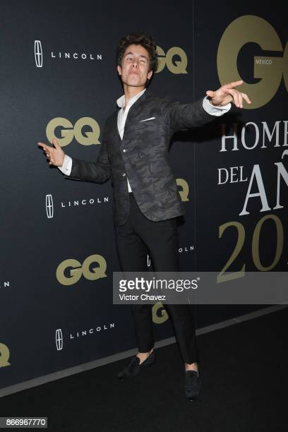 Juanpa Zurita attends the GQ Mexico Men of The Year Awards 2017 on October 26 2017 in Mexico City Mexico