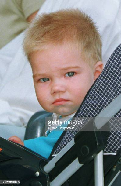 JuanValentin Urdangarin son of the Infanta Cristina