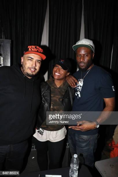 DJ Juanyto Scottie Beam and Shani Kulture host Hot 97 Who's Next at SOB's on February 27 2017 in New York City