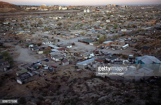 Juarez City is located on the right bank of the Rio Bravo which forms a natural border with the United States just opposite the Texan city of El Paso...