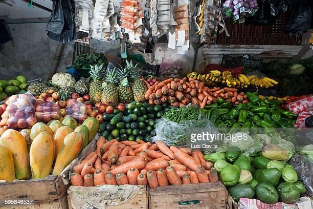 Juayua market, El Salvador