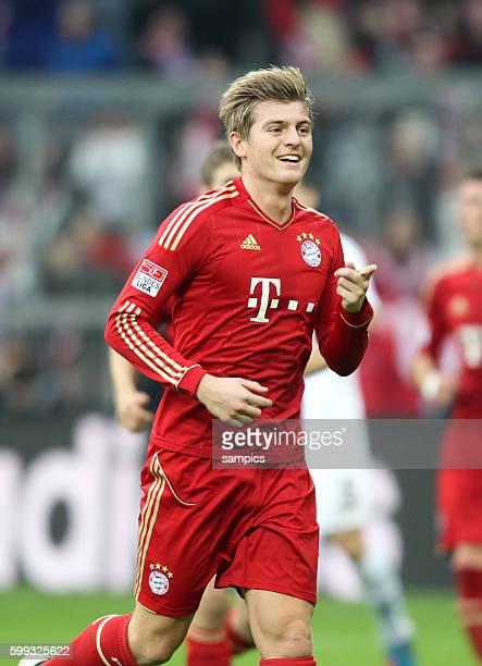 JUbel Toni KROOS FC Bayern München 1 Bundesliga Fussball FC Bayern München Hannover 96 50 Saison 2012 / 2013