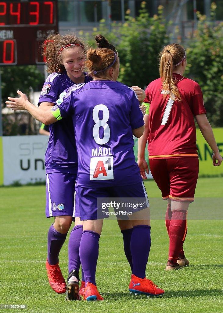 AUT: SG USC Landhaus Austria Wien v Union Kleinmuenchen - OeFB Frauen-Bundesliga
