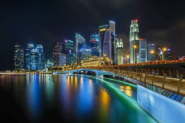 Jubilee Bridge Singapore Wall Art