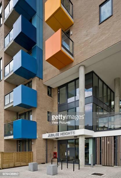 Jubilee Heights block Central Park Apartments Lewisham London United Kingdom Architect bptw partnership 2014