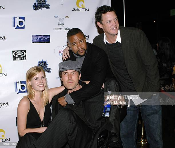 Jud TylorMars Callahan Writer/Director What Love Is Cuba Gooding Jr and Matthew Lillard attend the Los Angeles Premiere Of What Love Is at the...