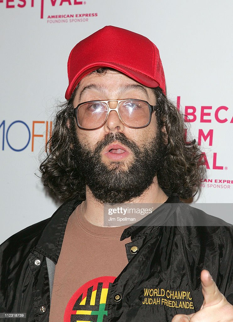 Judah Friedlander attends the premiere of 'Beware The Gonzo' during the 9th annual Tribeca Film Festival at the RdV Lounge on April 22, 2010 in New York City.