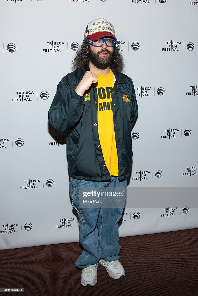 Judah Friedlander attends the premiere of 'Zombeavers' during the 2014 Tribeca Film Festival at Chelsea Bow Tie Cinemas on April 19, 2014 in New York City.