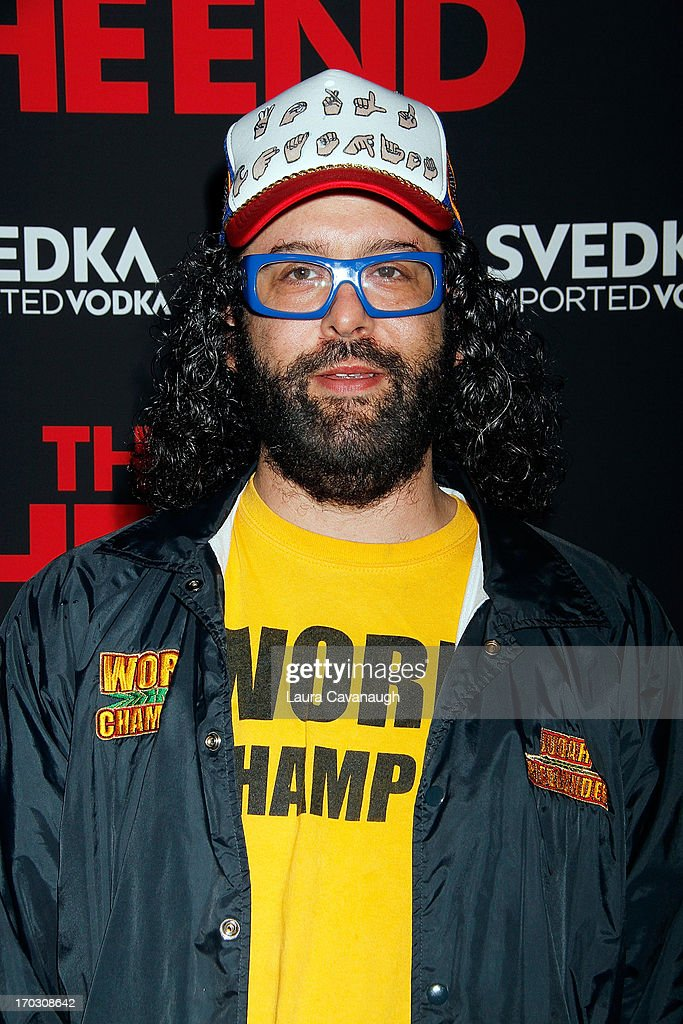 Judah Friedlander attends 'This Is The End' New York Premiere at Sunshine Landmark on June 10, 2013 in New York City.