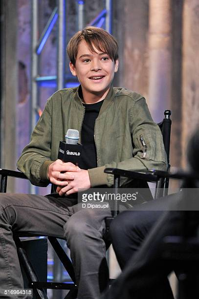 """Judah Lewis attends the AOL Build Speaker Series to discuss """"Demolition"""" at AOL Studios In New York on March 22, 2016 in New York City."""