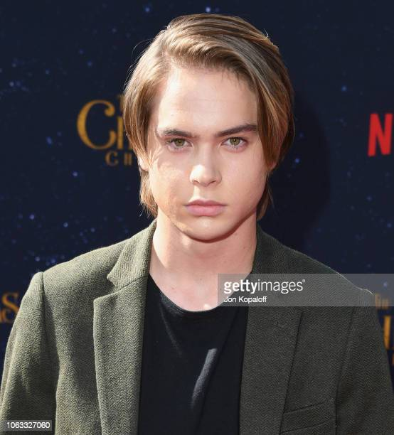 Judah Lewis attends the premiere of Netflix's The Christmas Chronicles at Fox Bruin Theater on November 18 2018 in Los Angeles California
