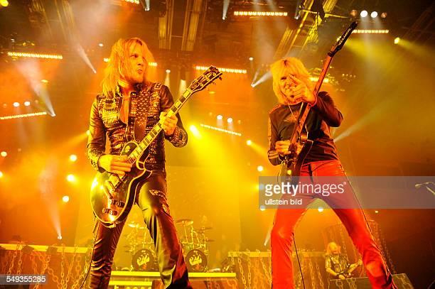 Judas Priest die britische HeavyMetalBand bei einem Konzert in der Alsterdorfer Sporthalle in Hamburg