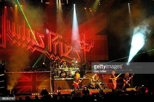 Judas Priest performs in concert at the ATT Center on July 25 2009 in San Antonio Texas