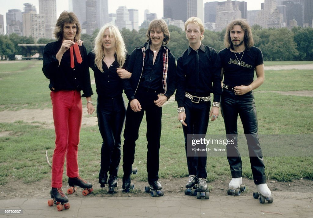 Judas Priest Posed In New York : ニュース写真