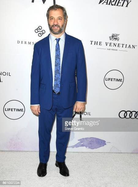Judd Apatow arrives at the Variety's Power Of Women Los Angeles at the Beverly Wilshire Four Seasons Hotel on October 13 2017 in Beverly Hills...