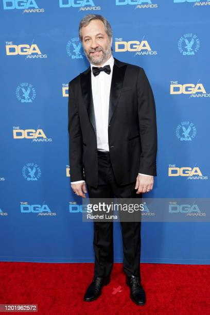 Judd Apatow arrives for the 72nd Annual Directors Guild Of America Awards at The Ritz Carlton on January 25 2020 in Los Angeles California