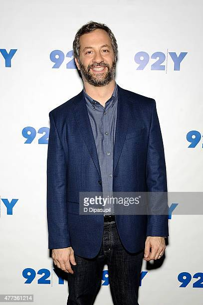 Judd Apatow attends 92nd Street Y presents An Evening with Judd Apatow and Ira Glass at 92nd Street Y on June 16 2015 in New York City