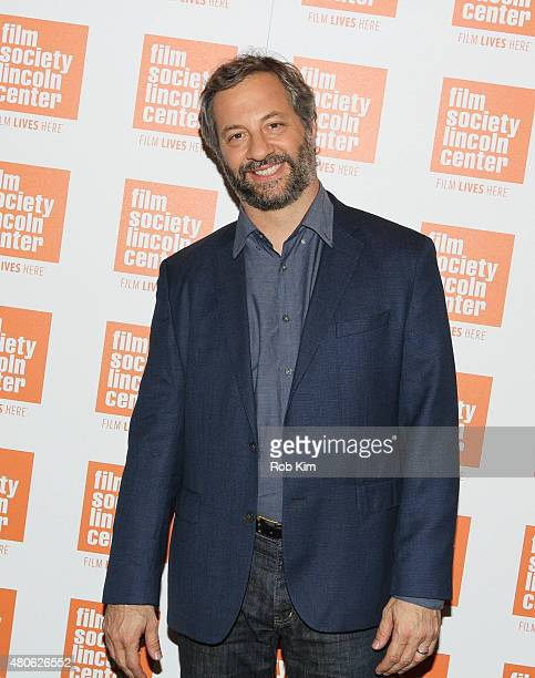 Judd Apatow attends the 2015 Film Society of Lincoln Center Summer Talks with Judd Apatow event at Walter Reade Theatre on July 13 2015 in New York...