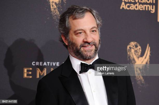 Judd Apatow attends the 2017 Creative Arts Emmy Awards at Microsoft Theater on September 9 2017 in Los Angeles California