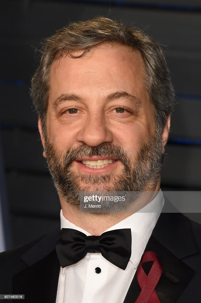Judd Apatow attends the 2018 Vanity Fair Oscar Party hosted by Radhika Jones at the Wallis Annenberg Center for the Performing Arts on March 4, 2018 in Beverly Hills, California.