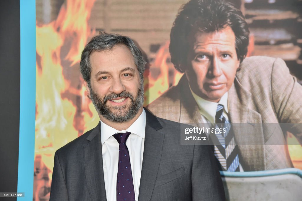Judd Apatow attends the screening of HBO's The Zen Dairies of Garry Shandling at Avalon on March 14, 2018 in Hollywood, California.'