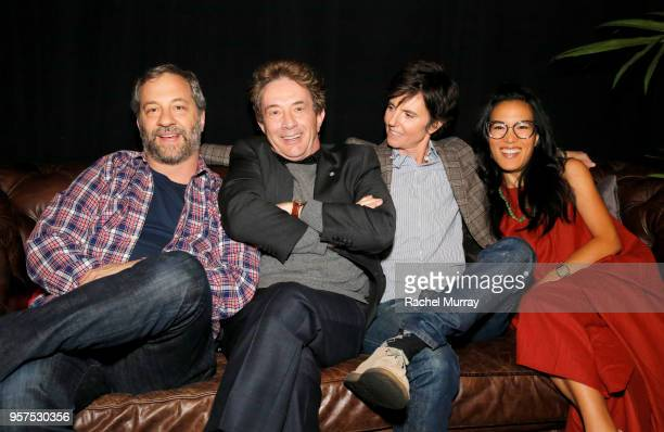 Judd Apatow Martin Short Tig Notaro and Ali Wong attend the 'Netflix is a Joke' Panel at Netflix FYSEE at Raleigh Studios on May 11 2018 in Los...