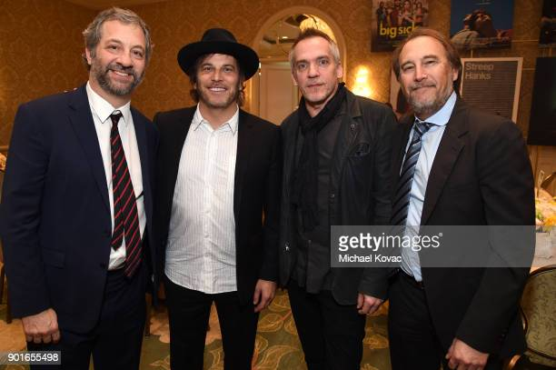 Judd Apatow Nathan Ross JeanMarc Vallee and Greg Fienberg attend 18th Annual AFI Awards at Four Seasons Hotel Los Angeles at Beverly Hills on January...