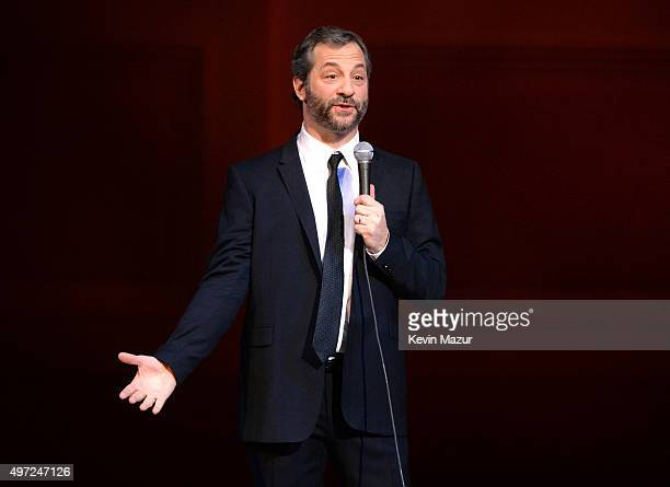 Judd Apatow performs at The New York Comedy Festival at Carnegie Hall on November 14 2015 in New York City