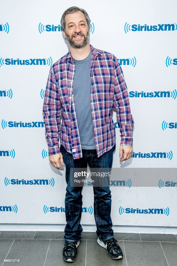 Judd Apatow visits SiriusXM at SiriusXM Studios on December 11, 2017 in New York City.