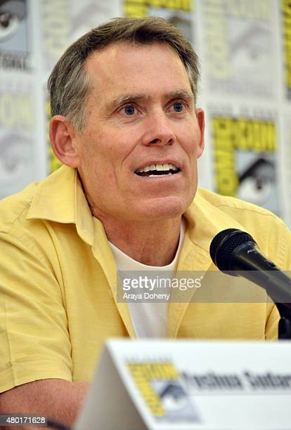 """Judd """"Chip"""" Lynn Executive Producer of Saban's Power Ranger Dino Charge participates in the official San Diego ComicCon Power Rangers panel at the..."""