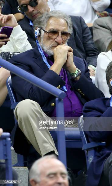 Judd Hirsch attends the men's final on day 14 of the 2018 tennis US Open on Arthur Ashe stadium at the USTA Billie Jean King National Tennis Center...
