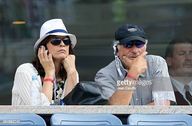 Judd Hirsch attends the women's final on Day 14 of the 2014 US Open at USTA Billie Jean King National Tennis Center on September 7 2014 in the...