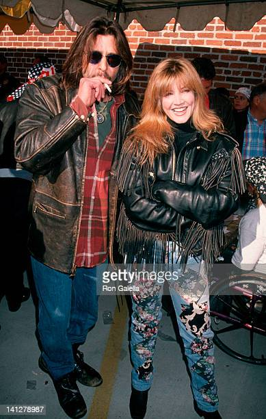 Judd Nelson and Crystal Bernard at the Love Ride 11 Benefiting Muscular Dystrophy Association HarleyDavidson of Glendale Glendale