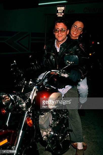 Judd Nelson and date at Bar One Nightclub