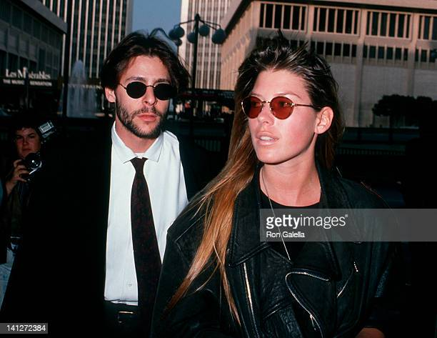 Judd Nelson and date at the ACLU Dinner Benefit Century Plaza Hotel Century City