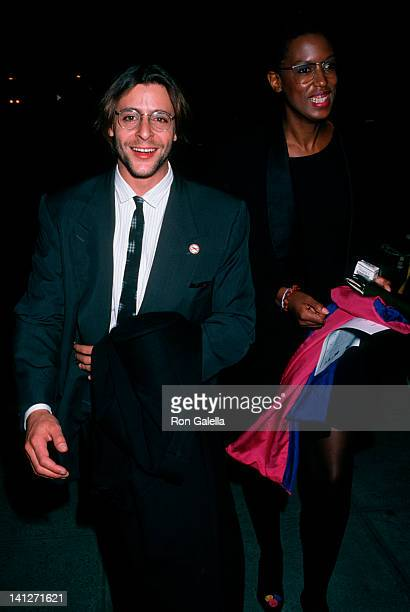 Judd Nelson and date at the Premiere of 'Old Gringo', Ziegfeld Theater, New York City.