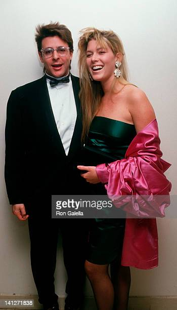Judd Nelson and Kelly Stafford at the The Pepsi Celebrity Ski Invitational Corination Queens Ball Mt Saint Anne Quebec Mt Saint Anne
