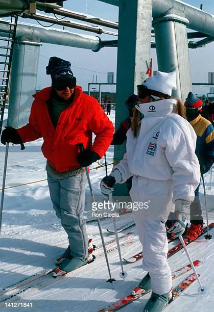 Judd Nelson and Kelly Stafford at the The Pepsi Celebrity Ski Invitational Mt Saint Anne Mt Saint Anne