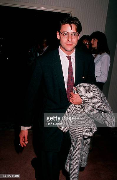 Judd Nelson at the 1989 ACLU Dinner Registry Hotel Beverly Hills