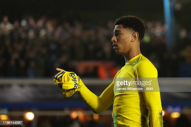 Jude Bellingham of Birmingham City at full time of the FA Cup Fourth Round match between Coventry City and Birmingham City at St Andrew's Trillion...