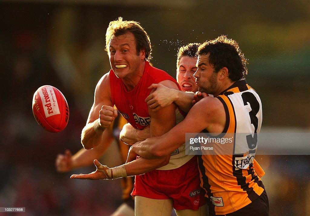 AFL Rd 19 - Swans v Hawks