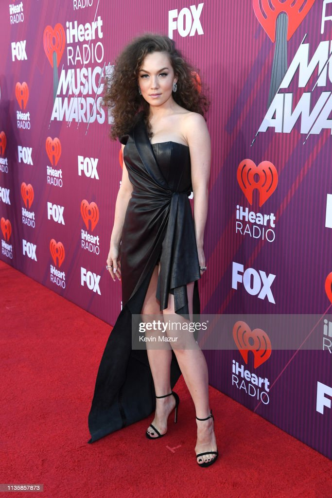Jude Demorest attends the 2019 iHeartRadio Music Awards which